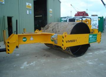 JCB VM651 Towed Roller